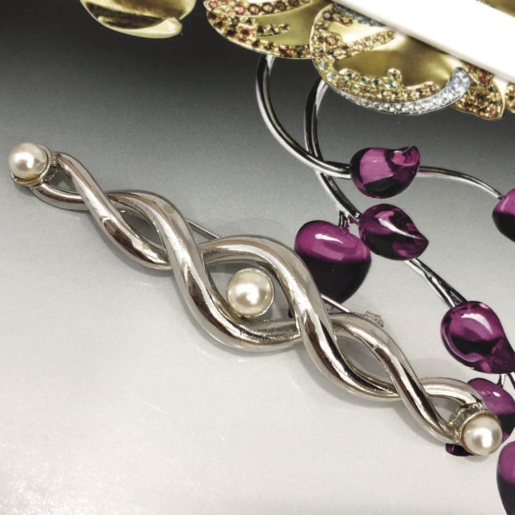 S1285 rhodie perle